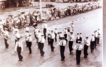 The Gayndah town band