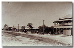 The main street of Gayndah